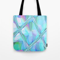 Re-Created  Glass Ceiling VII by Robert S. Lee Tote Bag