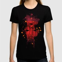 Grunge Transformers: Aut… Womens Fitted Tee Black SMALL