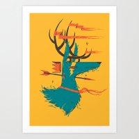 House Actaeon Art Print