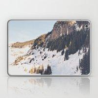 Mountain Snow in the Sun Laptop & iPad Skin
