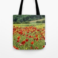 Poppies, Poppies, Poppie… Tote Bag