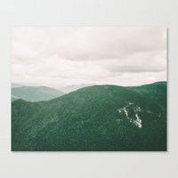 I'll See Mountains Again Canvas Print
