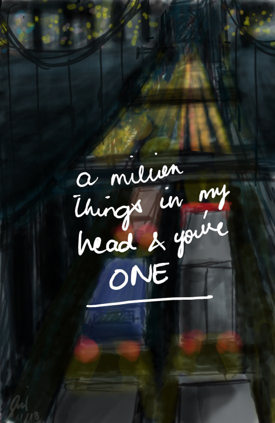 A Million Things Art Print