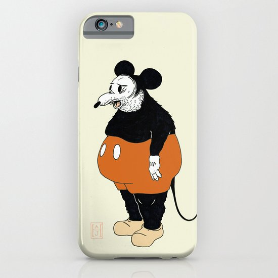 Mickey Da Rat iPhone & iPod Case