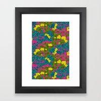 Jungle mix Framed Art Print