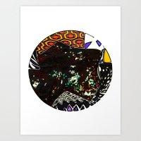 Terrene 3 Art Print