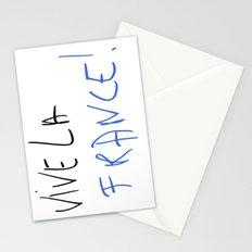 Vive la France ! Stationery Cards