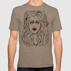 ADORE DELANO - RPDR  Mens Fitted Tee Tri-Coffee SMALL