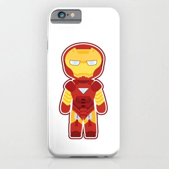 Chibi Iron Man iPhone & iPod Case