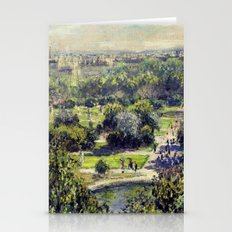 The Tuileries By Claude … Stationery Cards