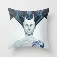 Porcelaine Throw Pillow
