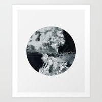 NOTHING GOLD CAN STAY Art Print