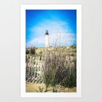 Cape May Coastline  Art Print
