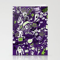 Print Brigade Collage Stationery Cards