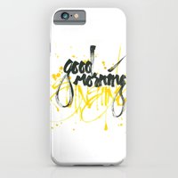 iPhone & iPod Case featuring Good morning sunshine by Hande Unver