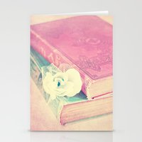 books Stationery Cards featuring BOOKS by VIAINA