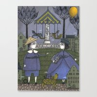 School's Out Canvas Print