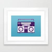 Listen to my... Framed Art Print
