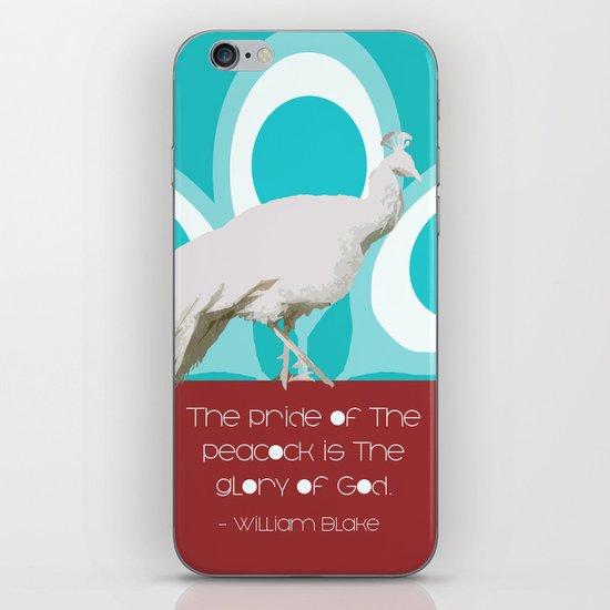 The Pride of the Peacock iPhone & iPod Skin