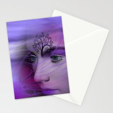 dreamface lilac Stationery Cards