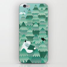 Tree Hugger (Spring & Su… iPhone & iPod Skin