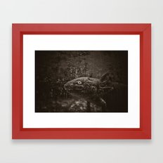 Axolotl Framed Art Print