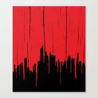 Paint It Red Canvas Print