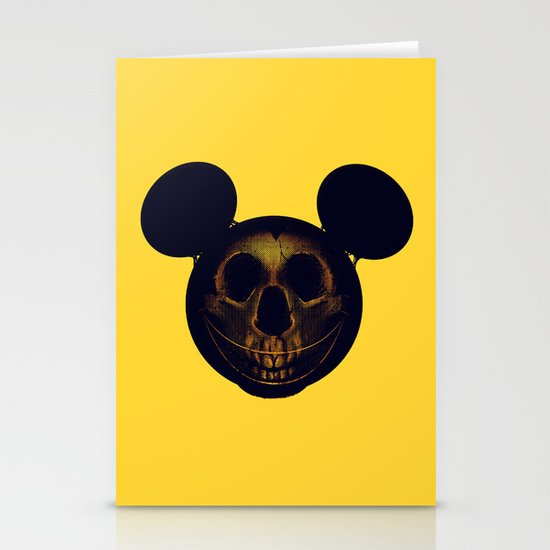 Mickey Stationery Card