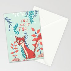 You are my Fox Stationery Cards