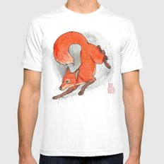 Fox Neighbor SMALL Mens Fitted Tee White