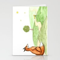 The Little Prince And Th… Stationery Cards