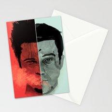 Tyler Durden V. the Narrator Stationery Cards