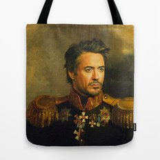 Robert Downey Jr. - replaceface Tote Bag
