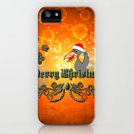 Christmas Crow iPhone (5, 5s) Slim Case
