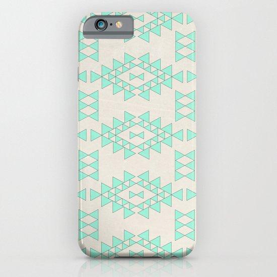 Mint Geo iPhone & iPod Case