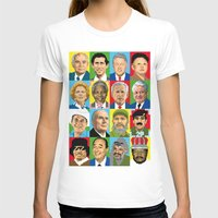 Select Your Politic Womens Fitted Tee White SMALL