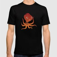Tiger Squid Mens Fitted Tee Black SMALL