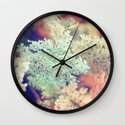 Dyed Lace Wall Clock