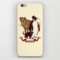 At the Arkham Zoo iPhone & iPod Skin