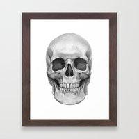 Skull G127 Framed Art Print