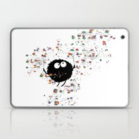 Blowing rainbow bubbles Laptop & iPad Skin
