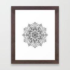 Thrive - Monochrome Mand… Framed Art Print