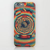iPhone Cases featuring glitch by Blaz Rojs
