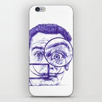 Salvador Dali iPhone & iPod Skin