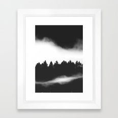 The Woods are calling Framed Art Print
