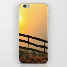 Foggy Farm iPhone & iPod Skin