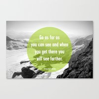 As Far As You Can See Canvas Print