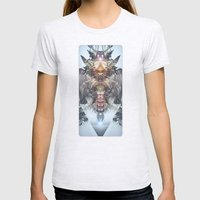 Avenging Angel Womens Fitted Tee Ash Grey SMALL