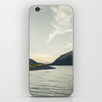Rocky Mountain Lake At Dusk iPhone & iPod Skin