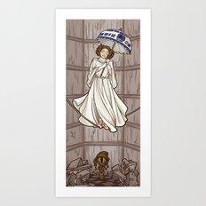 Leia's Corruptible Morta… Art Print
